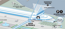 Milwaukee Art Museum map
